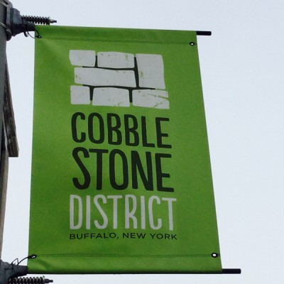 Businesses embrace the Historic Cobblestone District