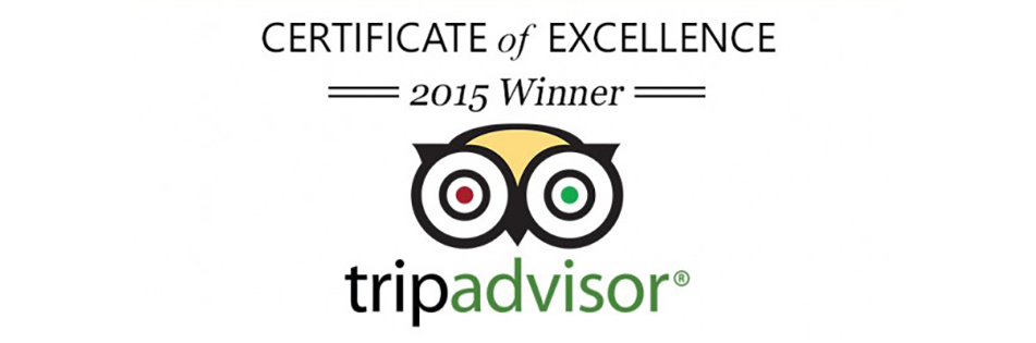 Venues in Historic Cobblestone District received TripAdvisor's Certificate of Excellence