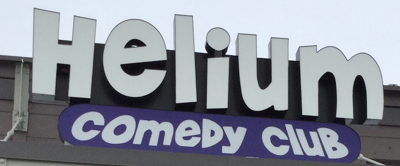 Helium Comedy Club Is The Talk Of The Town