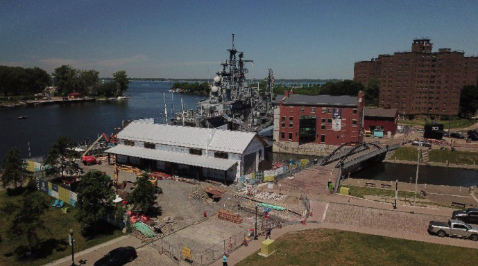 Canalside Projects Emerging from COVID-19 Delays