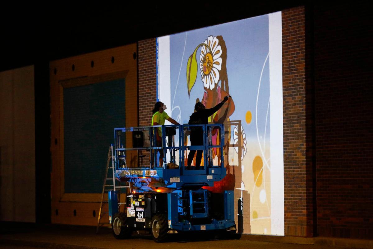 DL&W Murals to Brighten Drab Cobblestone District