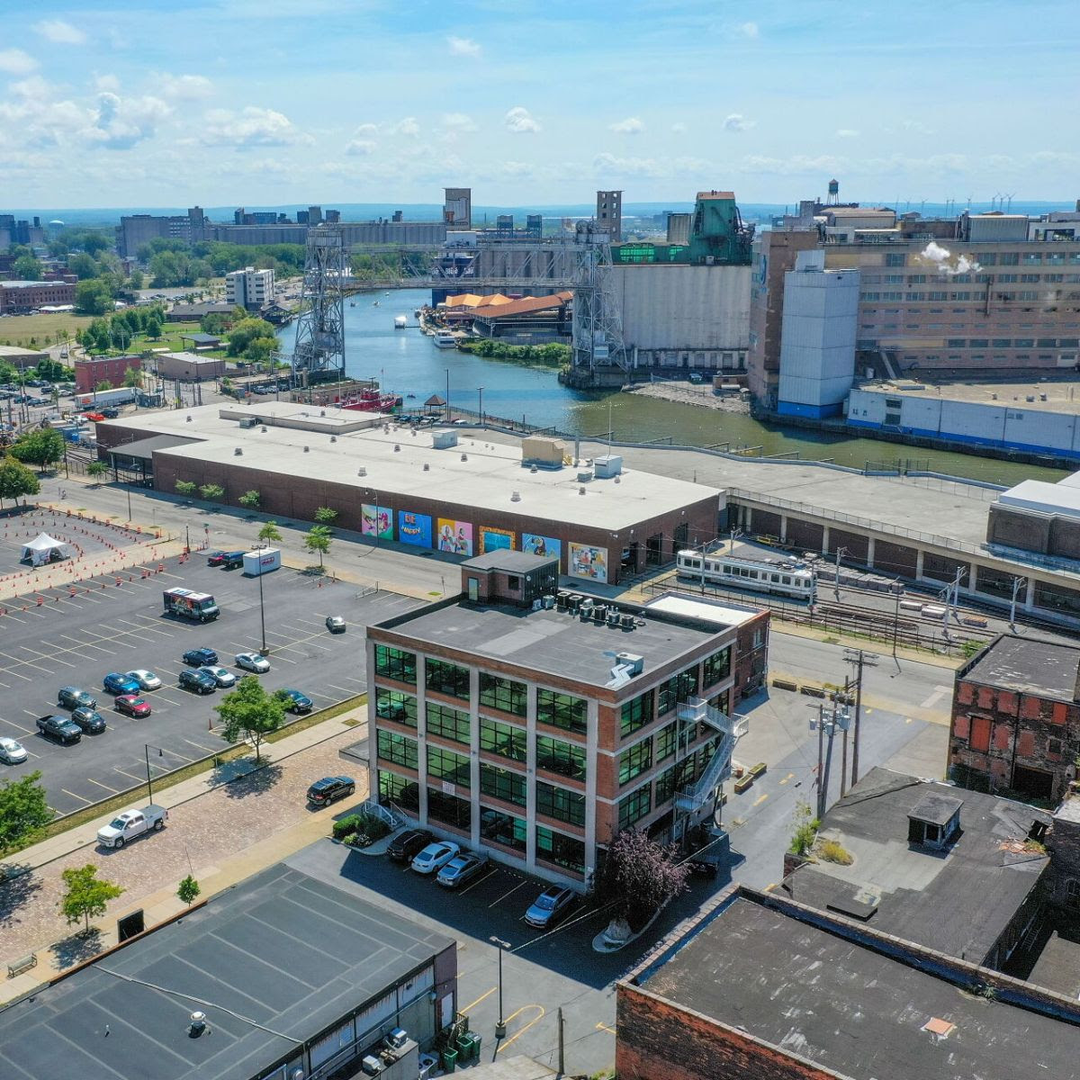 Furnished Penthouse Office Available in Historic Cobblestone District