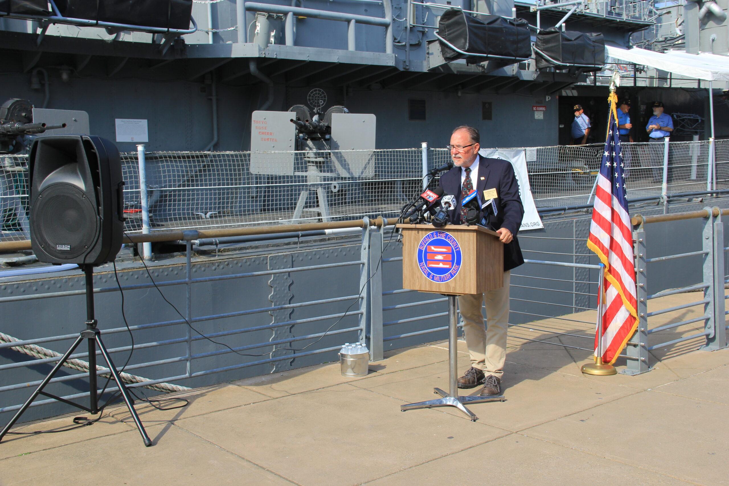 Work Begins on Hull Repairs to USS the Sullivans